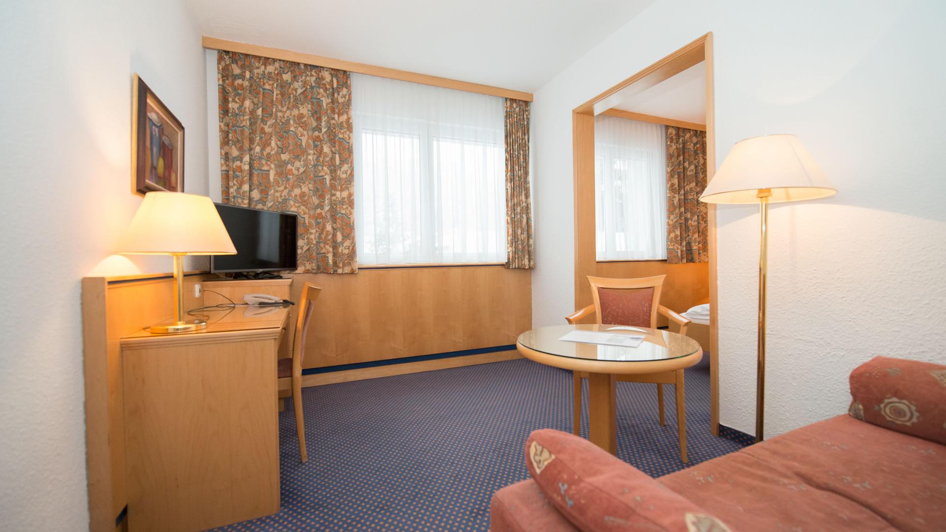 Doppelzimmer Superior im Parkhotel Styria in Steyr