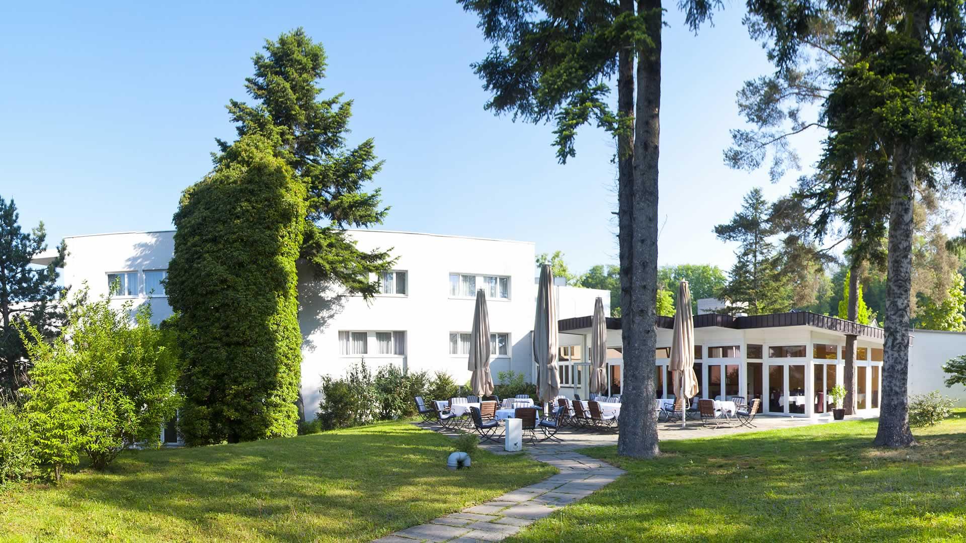 Gastgarten Parkhotel Styria in Steyr